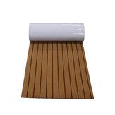 900x2400x6mm auto-adhésif EVA teck Decking Sheet Marine Flooring Faux bateau tapis antidérapant