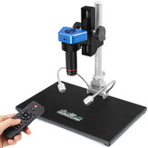 AD1605 4K HDMI USB Eletrônico Industrial Digital 150X Video Microscópio Set Câmera para PCB de telefone SMD CPU Solda Relógios