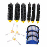 Accessory Replacement Kit Brushes Brushes 3 Armed Aero Vac Filter for iRobot 600 Series