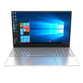 [Nova atualização] CENAVA F158G 15,6 polegadas Intel J4125 8GB RAM 256GB SSD 95% de proporção estreita moldura retroiluminada Notebook com impressão digital
