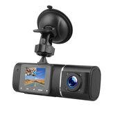 1080P Авто Видеорегистратор Двойной Объектив Передний и внутренний видеорегистратор 170 ° G-сенсор IR Ночное видение HD камера Регистратор