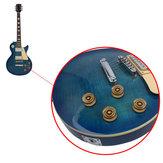 1 шт. Гитарные колки с золотой головкой полностью закрытый тон для гитарных аксессуаров