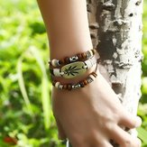 Pulsera Multi Arce Hoja Vintage Maple