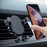 FLOVEME suporte do telefone do carro suporte de ventilação de ar gravidade auto fechamento 360 ° de rotação para iphone XS max / xiaomi