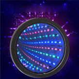 Sensory Infinity Mirror Light LED Mur de tunnel Relaxant Calm Stage Lamp