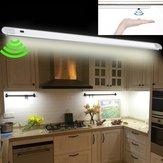 Dc12v 50 سنتيمتر 7 واط موجة اليد المستشعر 60LED خزانة جامدة قطاع ضوء لشريط المطبخ الحمام ديكور المنزل