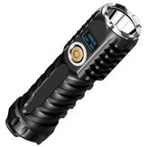 Skyfire P90 40W 3500m+ 7 Modes Waterproof Type-C Rechargeable Zoomable Flashlight Built In Battery