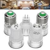 E27 GU53 GU10 MR11(AC/DC12V) 2W Warm White Pure White Spot Lightt Bulb AC85-265V