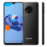 OUKITEL C19 Global Version 6,49 pollici HD + Android 10 GO 4000mAh 13MP Triple Rear fotografica 2GB 16GB MT6737 4G Smartphone