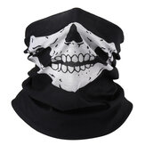 4Pcs Skull Multiuso Head Wear Cappello Sciarpa Face Maschera Cap