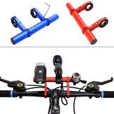 20CM Porta torcia per bici Manubrio Accessori per biciclette Staffa di montaggio prolunga