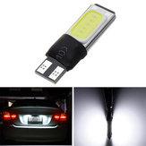 T10 W5W COB LED Luci di posizione laterali auto lampada Lampadina a cuneo Canbus No Error 6W 12V White 1Pcs