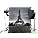 3x5FT Tour Eiffel Tour Eiffel Photo Studio Prop Photographie Contexte