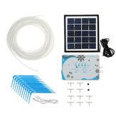 Солнечная DIY Микро-автоматический капельный полив Набор Таймер с автоматическим поливом USB