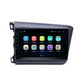 YUEHOO 9 Inch for Android Car Radio Multimedia Player 2G/4G+32G bluetooth GPS WIFI 4G FM AM RDS for Honda Civic 2012-2015