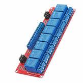 Módulo de relé optoacoplador de disparo de nivel de 8 canales de 12V Geekcreit para Arduino - productos que funcionan con placas Arduino oficiales
