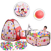 Foldable Baby Game House Tent for Kids Children Plastic Toy House Inflatable Game Tent Yard Ball Pool Chilren's Crawl Tunnel