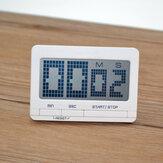 Bakeey LED Dijital Ekran Alarm Saat Mutfak Pişirme Zamanlama Hatırlatma Zamanlayıcı Ev Ofis Seyahat Için Takvim ile