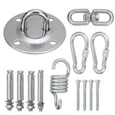 13Pcs Hammock Chair Hanging Basket Accessories Stainless Steel Fixed Buckles