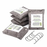 5Pcs Bamboo Charcoal Bag 200g Per Car Air Purifier Deodorizer Natural Freshener Odor Eliminator