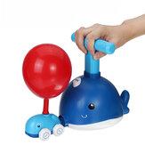 Torre de lançamento de balão de força Brinquedo Quebra-cabeça Divertido Educação Inércia Ar Power Balloon Car Science Experimen Toy para Crianças