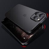 Cafele voor iPhone 12 Pro Max / 12 Mini / 12/12 Pro Case Mat Ultradunne Niet-Geel Anti-Vingerafdruk Doorschijnend PP Protective Case