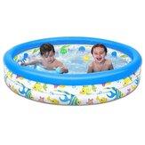 122x25cmの子供夏の屋外の浴槽の赤ちゃんの幼児のパドルの膨脹可能な円形のスイミングプールの子供