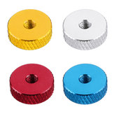 10Pcs M3 Hand Knurled Thumb Aluminum Alloy Screw Nut Spacer Flat Washer