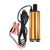 12V/24V DC Electric Submersible Pump For Pumping Oil Water Stainless Steel Shell Fuel Transfer Pump