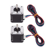 FLSUN® 2PCS 4-LEAD Nema17 42BYGH 1.7A Stepper Motor For 3D Printer