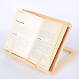 Wooden Frame Reading Bookshelf Bracket Tablet PC Stand Wooden Table Drawing Easel