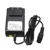 24V 0.6A зарядное устройство для 3-контактного разъема для Razor E100 E125 E500S PR200 Велосипед для скутера