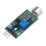 كشف الصوت المستشعر وحدة التعرف على الصوت وحدة عالية الحساسية المستشعر وحدة الميكروفون تيار منتظم 3.3 فولت -5 فولت