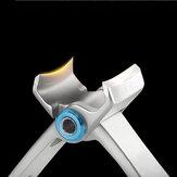 Y.F.M® ZJQ-1 Dual-bend Nail Clipper Finger Toenails Cutter