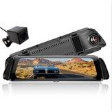 Авто Видеорегистратор Потоковое мультимедиа Зеркало заднего вида Dual камера Авто Видеорегистратор
