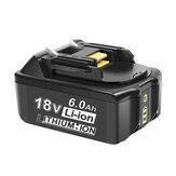 18V 3.0Ah-6.0Ah Batarya Makita için Yedek 18V BL1830 BL1840 BL1850 BL1860 BL1835 194205-3 194309-1 LXT-400 Akülü Batarya Güç Parçalar Batarya
