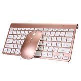 2.4GHz Kablosuz Mini Klavye & Mouse Set 78 tuş Ultra İnce İş Klavye 1200DPI Mouse Combo Kit USB ile Alıcı Dizüstü Bilgisayar için