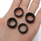 4PCS RC 1/28 Remote Control Car Vehicle Genaral Accessories Parts Black Tires