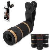Telescopioottico8xtelecameramobileTelephoto lente con clip per Smartphone Fotografi