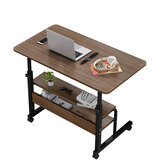 Bureau d'ordinateur portable de chevet mobile multifonctionnel Table d'ordinateur en bois Table d'étude support d'ordinateur