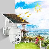 INQMEGA 1080P WiFi IP Camera Solar Power Panel PTZ Dome Outdoor Wireless Security Camera