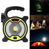 150LM COB Arbeitsscheinwerfer 4 Mode USB Wiederaufladbarer Suchscheinwerfer 200m Outdoor Fishing Camping Light