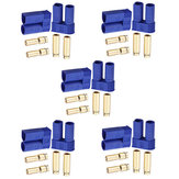 10Set EC5 Flame Retardant Male & Female Connectors Banana Head Plug For RC Lipo Battery