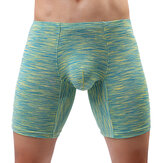 Mens U Convex Wear-resistant Leisure Sports Boxers Ropa interior