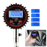 BIKIGHT Cyfrowy LCD Tester miernika ciśnienia w oponach 200PSI Tester kompresji do samochodu motocykl motocykl skuter