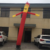 3 m / 6 m publicidad inflable Tube Man Air Sky Dancing Puppet Flag Wacky Wind Man Wind Decoraciones