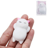 Pink Cat Kitten Squishy Squeeze Cute Healing Toy Kawaii Collection Stres Reliever Gift Decor