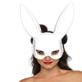 Зайчик Маска Laides Halloween Party Bar Костюм для ночного клуба Rabbit Ears Маска Masquerade Birthday Party Маскаs