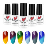 Gelfavor Cambio de temperatura UV Gel Polaco LED Shiny Soak Off Lacquer Barniz Uña Art 7ml Manicure