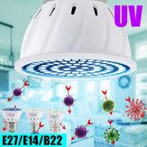 E27 E14 B22 UV Germicida Lámpara Desinfección LED Bombilla Esterilizador Luz para uso doméstico en interiores Hotel 220V
